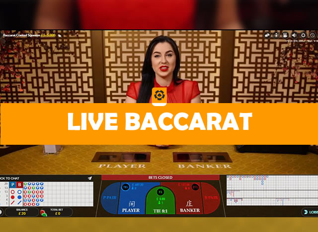 live baccarat spelen