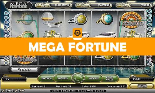 Mega fortune videoslot van Netent