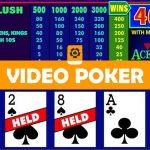 Video Poker Kaartspel